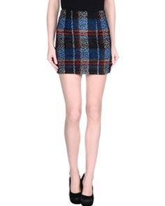 4521716f9a Black and Blue Dazzle Pencil #Flannel #Skirt Flannel Skirt, Mini Skirts,  Mini