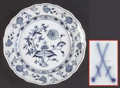 """Meissen (Germany) Blue Onion (""""X"""" Backstamp) at Replacements, Ltd - Page 1"""