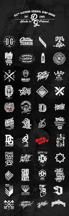 DIIL GANG CLOTHING _ DESIGN AND PRODUCTION.Clothing Showcase.