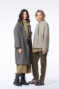 Each OSKA green shade this season looks lush when worn monochromatic or mixed with other collection colors. Shop our Gorgeous Greens at OSKA New York.