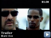 Miami Vice  by Michael Mann - based on the 1980's TV action/drama by Michael Mann