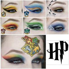 Harry Potter Nails Designs, Harry Potter Makeup, Harry Potter Face, Harry Potter Bday, Harry Potter Images, Harry Potter Cosplay, Harry Potter Halloween, Harry Potter Houses, Hogwarts Houses