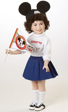 Mickey Mouse Club Annette Doll