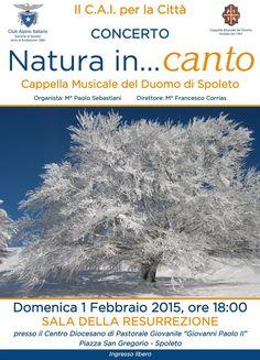 """Il CAI per la città: concerto della Cappella Musicale del Duomo """"NATURA in...canto"""""""