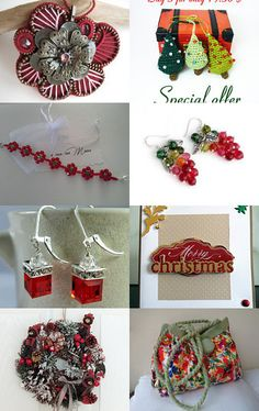 In the mood for Christmas by Eugene on Etsy--Pinned with TreasuryPin.com