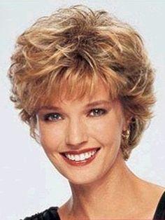 short soft curls 3/4 wig, wig shops in sydney
