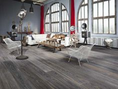The TOH Top 100: Best New Home Products 2014 - Grande Collection, by Kahrs.  A sustainable update of an old-world penetrating-oil finish tops this engineered wide-plank flooring, allowing you to easily touch up scratched or worn areas with a pine oil. There's no need to sand the whole floor down to bare wood. The 9-foot-long boards can install as a floating assembly.  From About $11 per square foot; kahrs.com