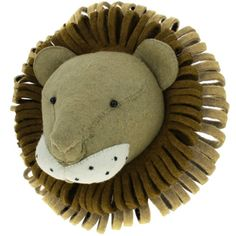 These gorgeous hand stitched, felt animal heads by Fiona Walker England are a real talking point. Not just for the kids, we think they will add a Felt Animals, Animals For Kids, Fiona Walker, Wildlife Safari, Elephant Head, Nursery Wall Decor