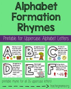 Learning the alphabet is an important step in teaching children to read. Here are 7 tools for teaching the alphabet to help your child take the first steps towards reading. Preschool Songs, Preschool Letters, Letter Activities, Preschool Curriculum, Preschool Lessons, Preschool Classroom, Preschool Learning, In Kindergarten, Homeschooling