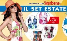 Starbene in edicola con il set estate: abito e bikini - DimmiCosaCerchi.it
