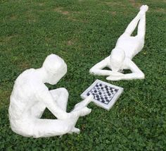 Abigail Colety from Austin, Texas won $1,000 as runner-up for Game Night, a depiction of two people playing draughts, made using 9 rolls of tape
