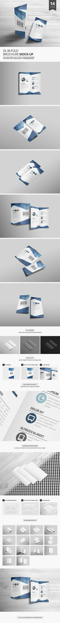 "Check out this @Behance project: ""DL Bi-Fold Brochure Mock-Up"" https://www.behance.net/gallery/46184679/DL-Bi-Fold-Brochure-Mock-Up"