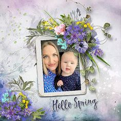 Spring In The Forest by et designs RAK for a friend Jekaterina Hello Spring, Scrap, Frame, Blog, Design, Home Decor, Homemade Home Decor, Tat