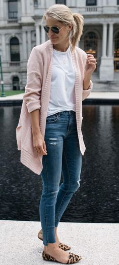 Pink cardigan a must have for my closet Devon