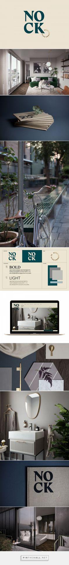 Nock on Behance. Brand design, logo design, web design, branding, visual identity #brandidentity