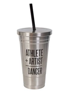 Sugar and Bruno D7699 Athlete Artist Dancer Stainless Cold Cup