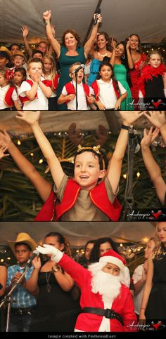 Island Academy's Hollywood Christmas Spectacular, San Pedro, Ambergris Caye, Belize