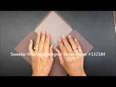 Envelope Punch Board Liner Tutorial. This tutorial is different to the one I previously pinned. She gives good tips about the board and also some sizing suggestions. I like the way she does the liner—less paper to use.