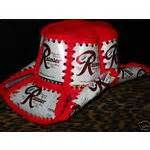 RAINIER BEER Crocheted Cowboy Beer Can Hat (03/01/2009)