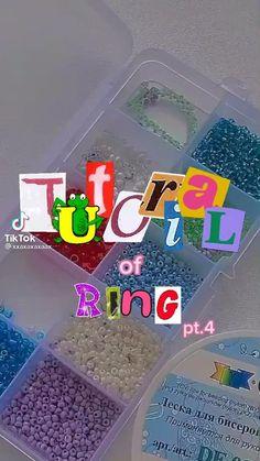 Diy Beaded Rings, Diy Jewelry Rings, Diy Jewelry Unique, Handmade Wire Jewelry, Diy Crafts Jewelry, Ring Crafts, Bead Jewellery, Beaded Jewelry, Diy Rings