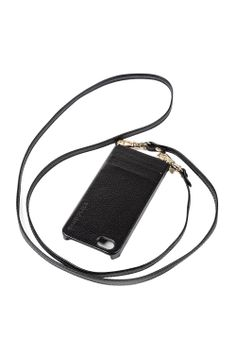 Donna Plain Iphone Case & Strap - Gold Hardware - MadisonLosAngeles