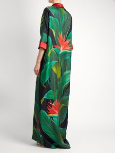 Click here to buy F.R.S – For Restless Sleepers Eurinome tropical floral-print silk shirtdress at MATCHESFASHION.COM