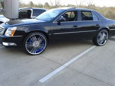 Cadillac DTS Rims | Re: 24 inch rims on 2008 DTS | JL Car Collection