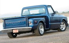 stepside truck | 1972 Chevrolet Stepside - Full Metal Jacket With A Plush Interior ...
