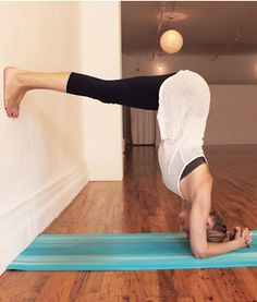Supported Headstand Headstand increases the circulation of blood and oxygen to the brain, calming the mind.