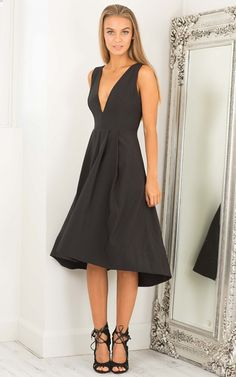 Get Low dress in black