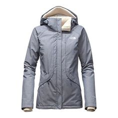 The North Face Women's Inlux Insulated Hooded Rain Fleece Jacket