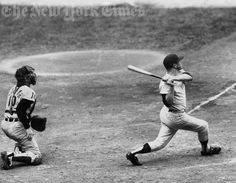 Mickey Mantle Blasts a Home Run - Sept. 30, 1962