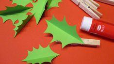 Papírový adventní věnec je originální, bezpečný a nedělá nepořádek! Prostě ideální pro děti. Můžete ho vytvořit různě barevný, dozdobit třpytkami nebo většími bambulkami. Triangle, Xmas, Manualidades, Creative