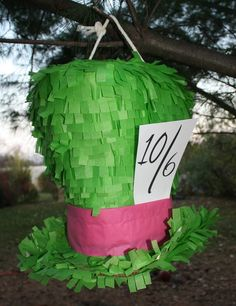 pinata! for alice in wonderland party