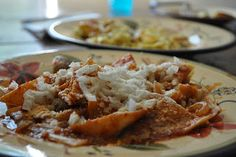 Chilaquiles - recipe en espanol. but looks good