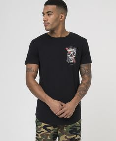 SPLICE SKULL TEE - BLACK - New in - £35