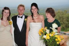 L2R, my beautiful daughter Doey, my gogeous husband, moi, and mum in law, Carol Carpenter