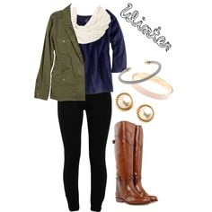 """""""Stayin Warm"""" by claireoco on Polyvore"""