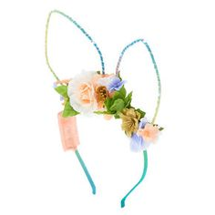NEW Claire/'s Light Up Becky Bunny Ears Headband Great for Easter Gift pink//teal