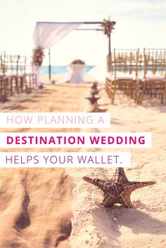 We often equate beautiful weddings with expensive weddings. We think that if something is stunning, then it must cost a fortune. However, if you can picture yourself on a white, sandy beach, holding hands with your spouse as turquoise waves lap in the distance, know that you can make it a reality without breaking the bank with a destination wedding.