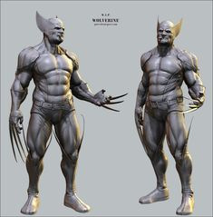 Wolverine is my all time favorite Marvel character! Wolverine Comics, All New Wolverine, Logan Wolverine, Marvel Comics, Zbrush, Comic Book Characters, Marvel Characters, Comic Books, 3d Model Character
