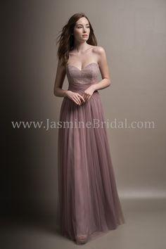 Jasmine Bridal - Belsoie Style L194005 in Lace/Soft Tulle, color Sandbar