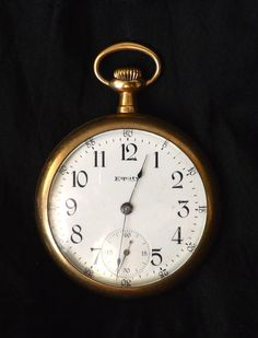 Waltham Equity Watch Co Pocket Watch 15 by GoldenBeeAntiques