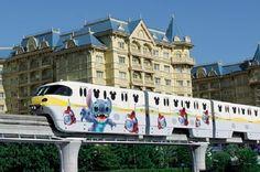東京迪士尼 史迪仔火車