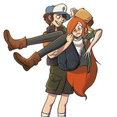 Wendy Corduroy, older Dipper Pines>> tbh I love Wendy Gravity Falls Anime, Gravity Falls Dipper, Gravity Falls Fan Art, Gravity Falls Comics, Gravity Falls Journal, Dipper E Wendy, Dipper E Mabel, Dipper Pines, Mabel Pines