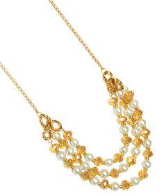 Collar dorado / Joyería / Moda femenina / Accesorios para mujer / Día de las madres / 10 de mayo / Regalo para mamá