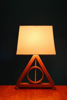 Harry Potter Deathly Hallows Table Lamp by GoldenRatioFurniture