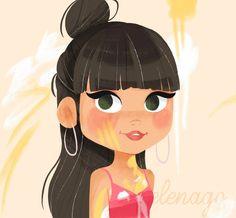Aitana teléfono Divas, Harry Potter, Girl Cartoon, Cosplay, Wallpaper, Memes, Drawings, Disney, Illustration