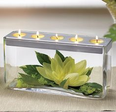 """An all-time favorite ... our Customizable Tealight Centerpiece ... elegant and simple to create a """"fashion"""" statement! http://www.partylite.biz/sites/itsjustscentsational"""