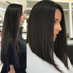 Discover recipes, home ideas, style inspiration and other ideas to try. Haircuts Straight Hair, Long Bob Haircuts, Long Bob Hairstyles, Medium Hair Cuts, Long Hair Cuts, Medium Hair Styles, Short Hair Styles, Cabelo Log Bob, Cabelo Ombre Hair